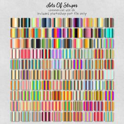 Patterns: Lots Of Stripes by HGGraphicDesigns