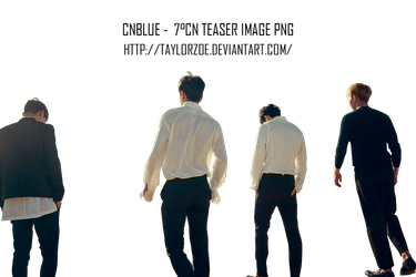 [RENDER]CNBLUE 7CN PNG by TaylorZoe