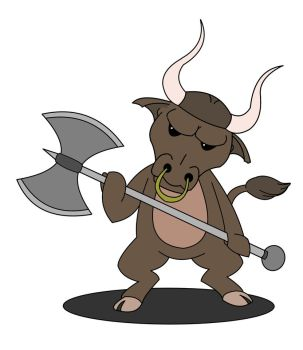 Lil Minotaur by DigitalEpoch
