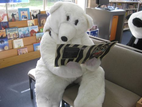 Yr 12 Muck Up Day - Intrigued Polar Bear! by I-Have-A-Jar-Of-Dirt