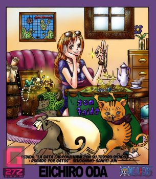 Nami and the kitty thiefs by G27Z