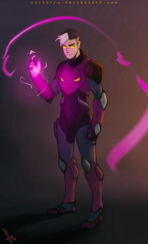 Darkness Shiro by SolKorra