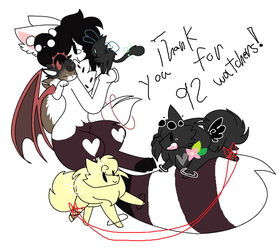 Thank you! by DitzyDoodles