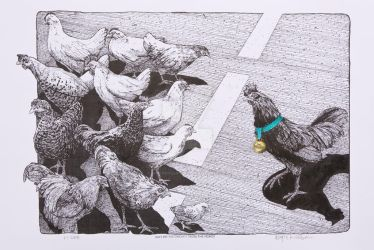 Why Did the Chicken Cross the Road - 2008 by WayneHuebner