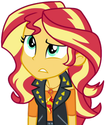 [Vector] Sunset Shimmer (wait a minute.) by TheBarSection
