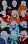 AU!Sans and AU!Papyrus by NeykStar