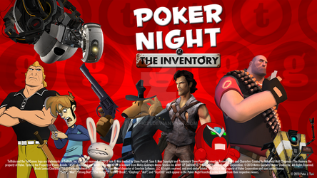 Poker Night at the Inventory Fan Wallpaper WS by Terrific21