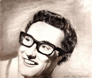 The Late Great Buddy Holly by goshnessmaggy
