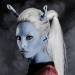 Andorian star Trek cosplay by MissHatred by JessicaMissHatred