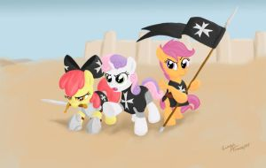 CMC Hospitallers by lunarapologist