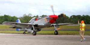 North American P-51D The Rebel by OpticaLLightspeed