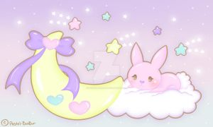 Sweet Sugar Universe Pastel-BunBun DA With Boarder by Pastel-BunBun