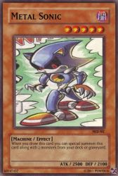 Metal Sonic card by Power1x