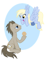 AWWW you made a muffin for me by MoostarGazer