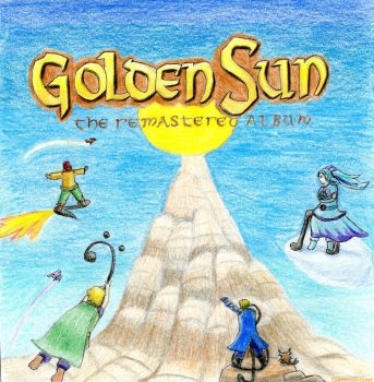 Golden Sun Remastered Album Cover by GamingArtSeer