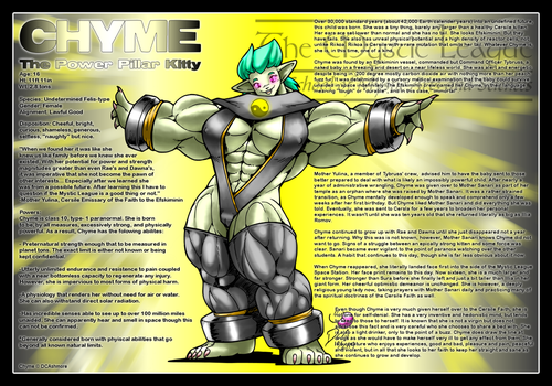 Mystic League - Chyme by DocWolph