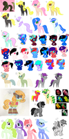 Old Adopts (OPEN) by AdoptingDaize