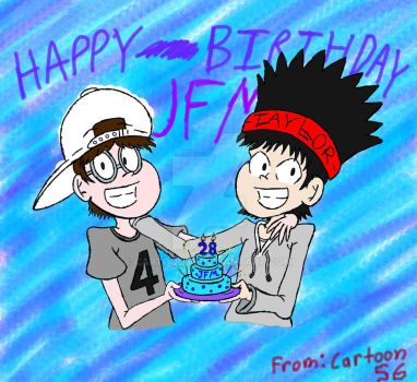 JFM Birthday Piece  by cartoon56