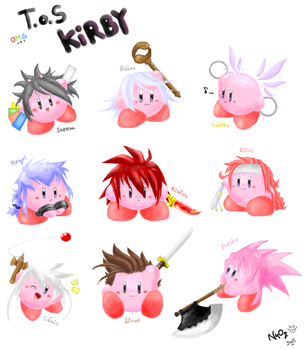 OMG ToS Kirby by Chimykal-girl