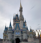 Cinderella Castle IMG 3525 by TheStockWarehouse