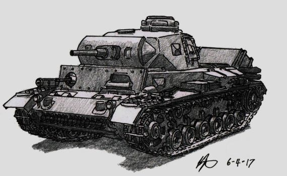 Panzer III by TimSlorsky