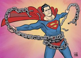 Superman Unchained by ADAMshoots