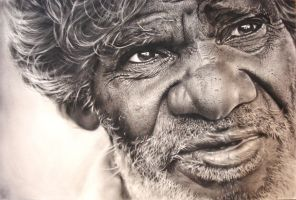 latest charcoal drawing by nartbits
