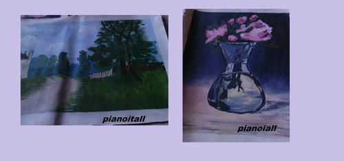 Paintings by pianoitall