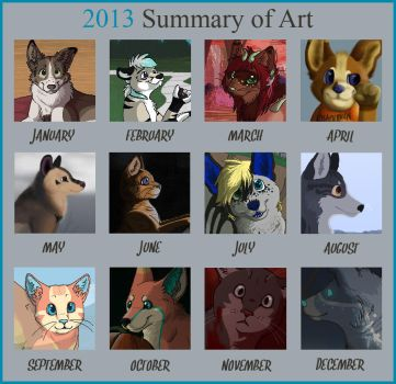 2013 Summary Of Art by Miiroku