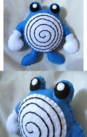 Poliwhirl Plush Comission
