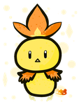 Shiny Torchic Gif! (Has Speedpaint) by TheDrawingMorgs