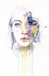 Miss bow tie by agnes-cecile