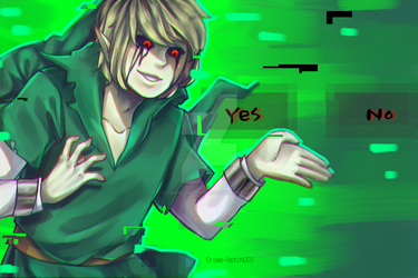 |Ben Drowned|  Choose One by Cross-Hatch001