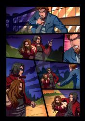 Night Wolf Comic Book Issue #2 Page 14 Colors by RAM-Horn
