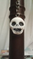 Spooky scary keychain by Mirage-Epoque