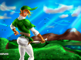 Link : Breath of the Wild or the Wind ? by Alphonys