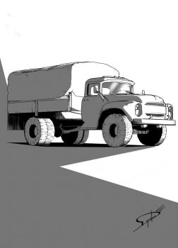 Commission: Truck by Deyvidson