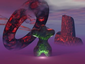 Malachite Man vs. Torus by djbeyonder