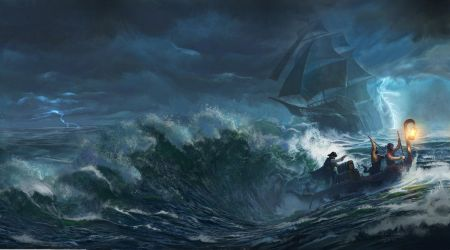 Storms of Fortune - Cover for Northgate Publishing by Matchack