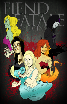 Fiend Fatale: Origins Cover Concept by KidAbyssmal