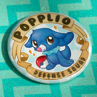 POPPLIO DEFENSE SQUAD! Pokemon SuMo BUTTON