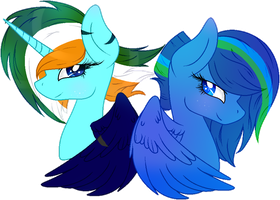 .:Contest:. [[Snowflakecrystals and Bree]] by AngelLightYT