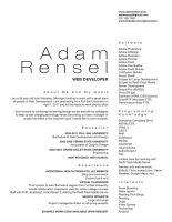 Clean Resume by christamr