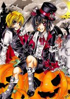 .:Trick or Treat:. by Nami--chan