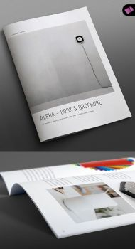 Alpha Series - Book + Brochure Template - Portrait by isoarts2