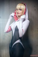 Spider Gwen Cosplay by andrewhitc