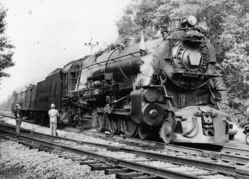 PRR K4s 1361 on the Bald Eagle Branch by PRR8157