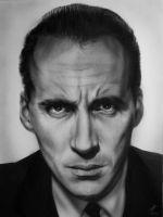 Christopher Lee by miualpainter