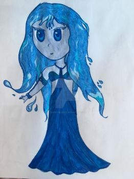 Water Sprite Chibi by Queen-of-Ice101