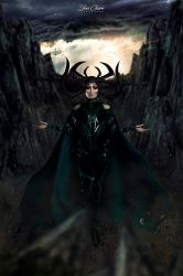 Hela: The Goddess of Death by JoviClaire